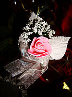 Бутоньерка Роза (цена за 1 штуку)