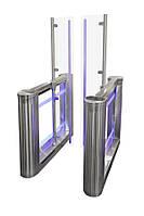 SWEEPER HG турникет со стеклянными прозрачными лопастями выстотой 1800мм, крашеный, цвет RAL на выбор