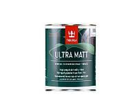 """Краска латексная TIKKURILA ULTRA MAT для деревянных фасадов, база  """"А"""" -белая, 0,9л"""