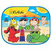 Солнцезащитная шторка в машину K'S Kids Пляж 30271 EUT/22-35