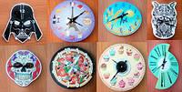 Оригінальні настінні годинники