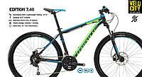 """Велосипед HaiBike Edition 7.40, 27.5"""" 2016 черный, фото 1"""
