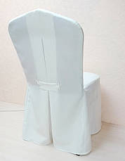 Чехол на стул из прочной лёгкой ткани Шампань, фото 3