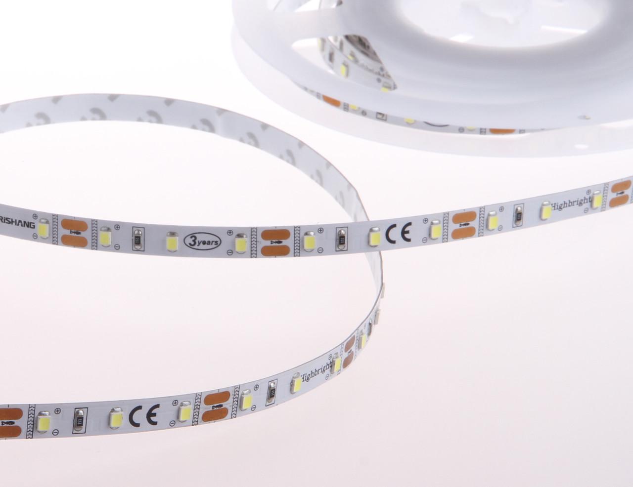 LED лента Rishang Premium SMD 2835, 60шт/м, 6W/m, IP33