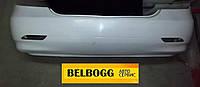 Бампер задний оригинал без отверстий под парктроники BYD G3R, Бид Г3Р, Бід Ж3Р