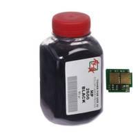 Тонер+чип АНК для HP CLJ 1600/2600/2605 (тонер АНК, чип АНК) бутль 80г Black (330053)