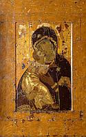 Владимирская икона Божьей Матери под старину