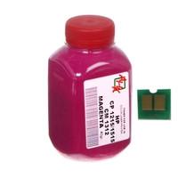 Тонер+чип АНК для HP CLJ CP1215/CP1515/CM1312 (тонер АНК, чип АНК) бутль 40г Magenta (1500150)