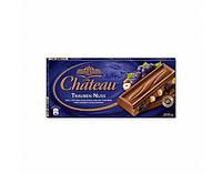 Шоколад молочный изюм / фундук Chateau  Trauben Nuss 200 г.