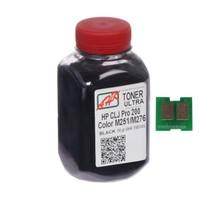 Тонер+чип АНК для HP CLJ Pro 200/M251/M276n (тонер АНК, чип АНК) бутль 50г Black (1505157)