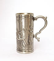 Оригинальный оловянный бокал, пищевое олово, Германия