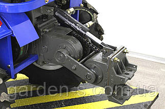 Мототрактор Claus LX155F + Фреза 1.2 м + 2-х корпусный плуг, фото 3