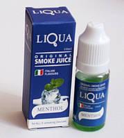 """Жидкость для электронных сигарет  """"Ментол/ Mentol """" - LIQUA, фото 1"""