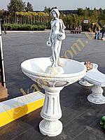 """Фонтан """"Женщина с двумя кувшинами"""" арт.038"""