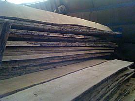 Доска дуба необрезная, сухая 1-й сорт 50 мм, фото 3