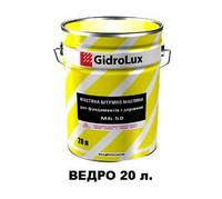 GIDROLUX Битумная маслосодержащая морозоустойчивая мастика «МБ-50»