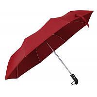 Зонт складной автоматический под лого Красный