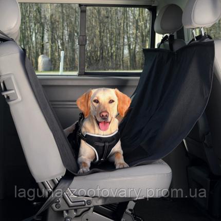 Чехол с боковыми панелями  в машину на задние сиденья 150 х135см, фото 2