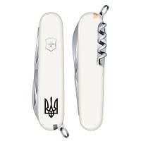 Складной нож Victorinox SPARTAN UKRAINE Трезубец Vx13603.7R1