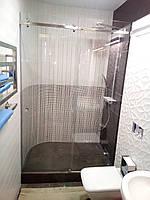 Установка и изготовление раздвижных систем в душ