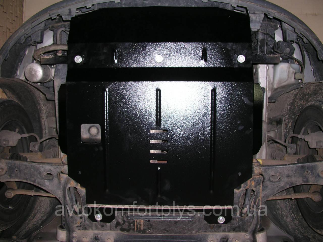 Металлическая (стальная) защита двигателя (картера) Ford Fiesta VI (2001-2008) (V-1,4 D)