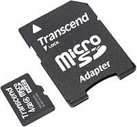 MicroSD Transcend 4Gb class 4 (adapter SD)