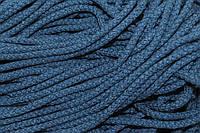 Шнур акрил 6мм. (100м) синий джинс