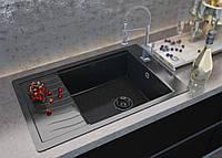 "Мойка кухонная Moko Firenze цвет ""Nero brilliante"""