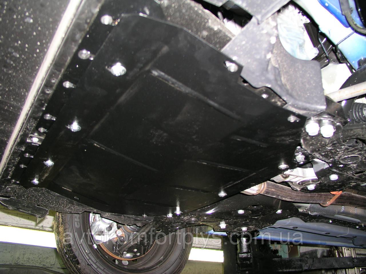 Металлическая (стальная) защита двигателя (картера) Fiat Doblo II поколение (2010-) (все обьемы)