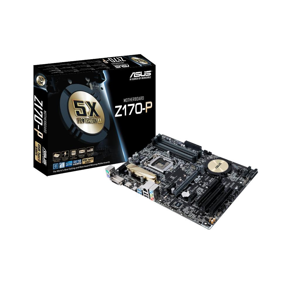 "Материнская плата Asus Z170-P OEM s.1151 DDR4 ""Over-Stock"""