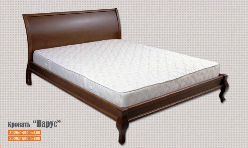 Кровать двуспальная Парус