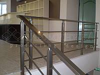 Алюминиевые ограждения квадратного сечения