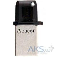 Флешка Apacer USB флеш накопитель Apacer 16GB AH175 USB 2.0 OTG (AP16GAH175B-1)
