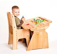 Абсолют мебель Парта-трансформер Школярик С-890 (стоимость без стула) с пеналом