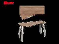 Стол офисный на металлических опорах