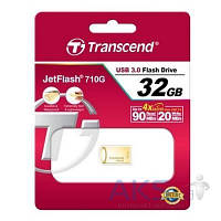 Флешка Transcend 32GB JetFlash 710 Metal Gold USB 3.0 (TS32GJF710G)