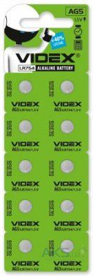 Батарейки Videx SR754W (393) (309) 10шт