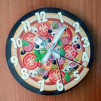 """Часы настенные """"Пицца"""""""