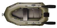 Надувная лодка Bark В-210CN одноместная, гребная, с жестким настилом и транцем под подвесной мотор