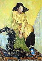«Актриса» картина маслом