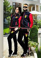 """Стильный мужской спортивный костюм  """" Ferrari """" Dress Code"""
