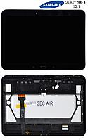 Дисплей + сенсорный экран (touchscreen) для Samsung Tab 4 10.1 T530, с рамкой, черный, оригинал