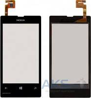 Сенсор (тачскрин) для Nokia Lumia 521 Black