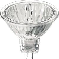 Лампа галогеновая MR16 12v 50w GU5.3 Delux