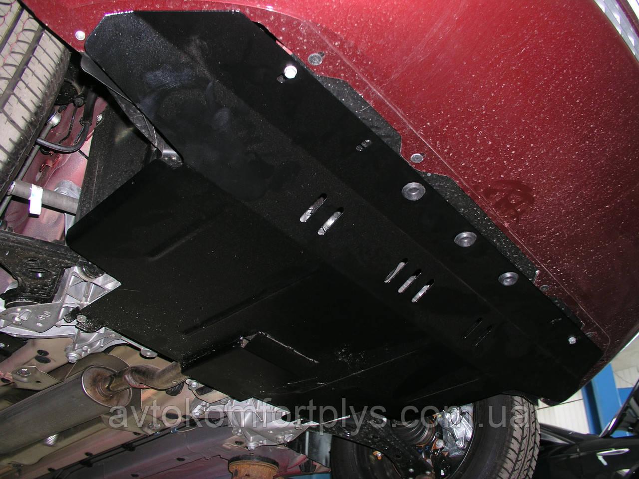 Металлическая (стальная) защита двигателя (картера) Fiat Linea (2010-) (V-1,4 /turbo/)
