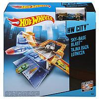 """Игровой трек Hot Wheels """"Воздушная база"""" CDM29"""