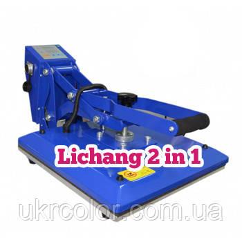 Терпомресс Lichang 2 в 1 с плитой 38х38 см и кружечной опцией
