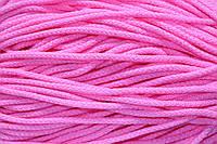 Шнур акрил 6мм.(100м) розовый