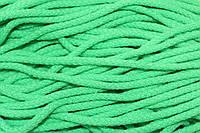 Шнур акрил 6мм.(100м) зеленый