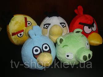 Игрушки мягкие Злые птички   ( 20см)